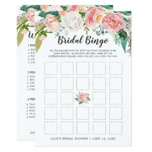Blushing Summer Floral Double-Sided Bridal Shower Invitation starting at 2.51