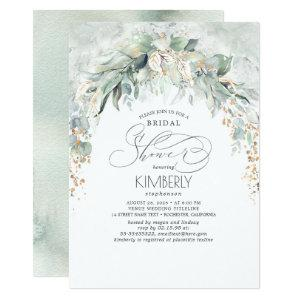 Bohemian Greenery Romantic Summer Bridal Shower Invitation starting at 2.26