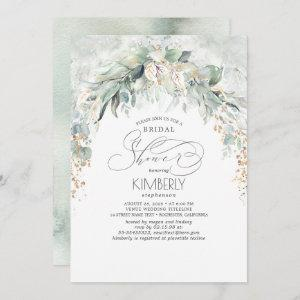 Bohemian Greenery Romantic Summer Bridal Shower Invitation starting at 2.51