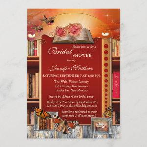 Books and Butterflies Bridal Shower Invitation starting at 2.66