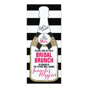 Bridal Brunch Bridal Shower Invitation Champagne starting at 2.77