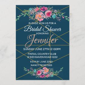 Bridal Invite Navy starting at 2.30