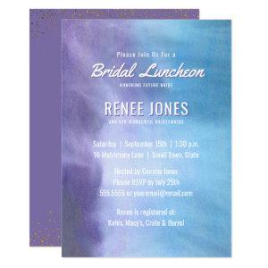 Bridal Luncheon | Pastel Lavender Purple Blue Invitation starting at 2.45