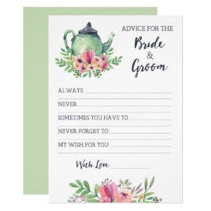 Bridal Shower Advice for Bride and Groom Invitation starting at 2.40