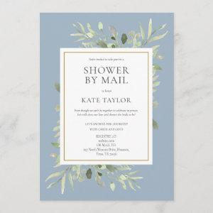 Bridal Shower By Mail Greenery Leaves Invitation starting at 2.51