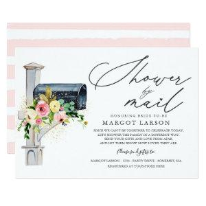 Bridal Shower By Mail Invitation Blush Pink Gold starting at 2.61