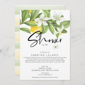 Bridal Shower by Mail Vintage Lemons and Blossoms Invitation starting at 2.66