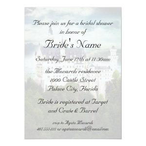 Bridal Shower, Castle Themed Wedding Invitation starting at 2.87