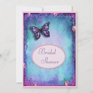 Bridal Shower Faux Glitter, Butterfly, Roses, Lace starting at 2.77