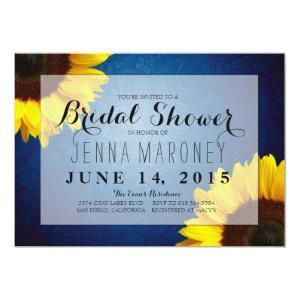 Bridal Shower Invitation - Sunflowers & Blue Jeans starting at 2.51