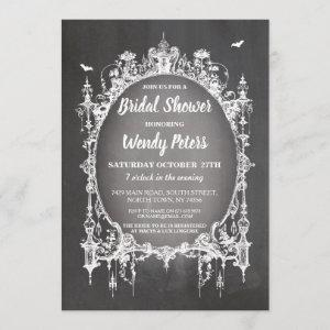 Bridal Shower Party Gothic Frame Halloween Invite starting at 2.51