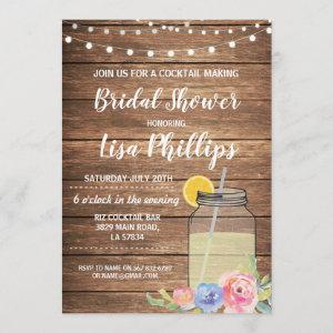 Bridal Shower Party Invite Jar Cocktail Making starting at 2.51