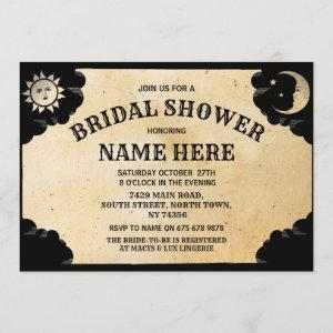 Bridal Shower Party Ouija Gothic Halloween Invite starting at 2.51