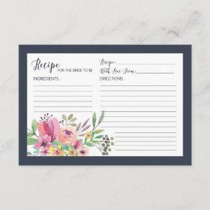 Bridal Shower Recipe for Bride to Be Enclosure Card starting at 2.26