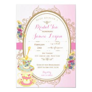 Bridal Shower Tea Party Invitation starting at 2.45