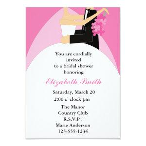 Bride and Groom Bridal Shower Invitations starting at 2.66