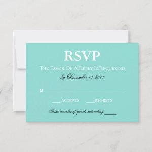 BRIDE Country Wedding Suite White Traditional RSVP Card starting at 2.00