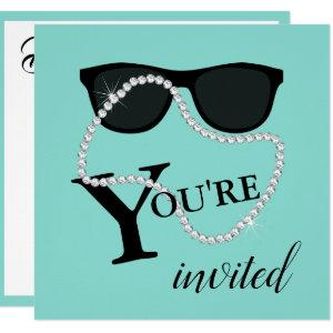 BRIDE Glam Celebrate Diamond Tiara Party Shower Invitation starting at 2.95