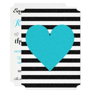 Bride Summer Lovin Black White Soiree Lawn Party Invitation starting at 2.80