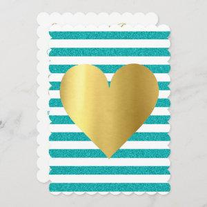 Bride Summer Lovin Teal Blue Soiree Lawn Party Invitation starting at 2.80