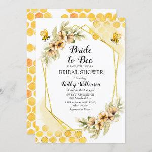 Bride to bee bridal shower invitation starting at 2.55