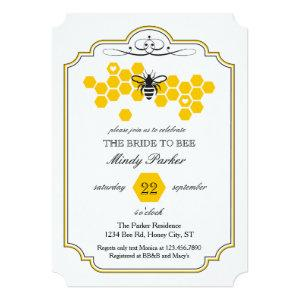 Bride to Bee Bridal Shower Invitation starting at 2.86