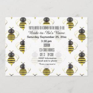 Bride to Bee Bridal Shower Invitations starting at 2.51