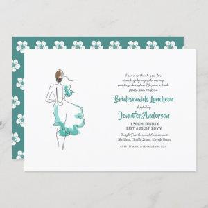 Bridesmaid Luncheon, Tea , Brunch Invitations Chic starting at 2.40