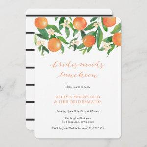 Bridesmaids luncheon in charcoal citrus tangerine starting at 2.86