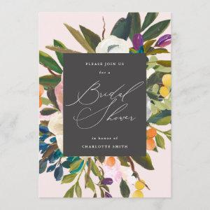 Bright Citrus Flowers | Bridal Shower Invitation starting at 2.40