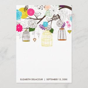 Bright Colorful Birdcages Bridal Shower Invitation starting at 2.51