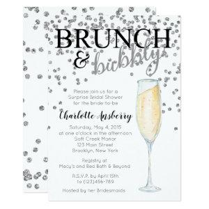 Brunch and Bubbly Bridal Shower Invitation starting at 2.82