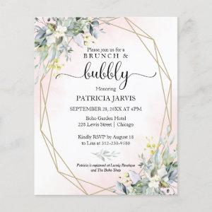 Brunch And Bubbly Budget Bridal Shower Invitations starting at 0.55