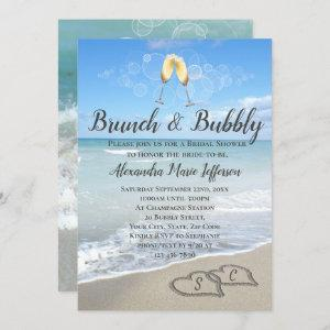 Brunch and Bubbly Sand Hearts Beach Bridal Shower starting at 2.65