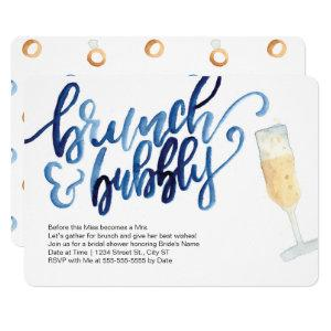 Brunch and Bubbly Wedding Shower Invitations starting at 2.75