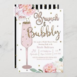 Brunch & Bubbly Champagne Mimosa Bridal Shower Inv starting at 2.65