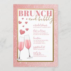 BRUNCH & BUBBLY   ROSE GOLD CHAMPAGNE starting at 2.40