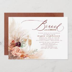 Brunch with the Bride Bridal Shower Pampas Grass Invitation starting at 2.51