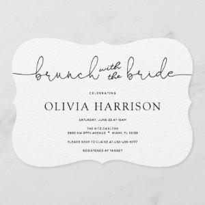 Brunch with the Bride Shower Invitation starting at 3.35