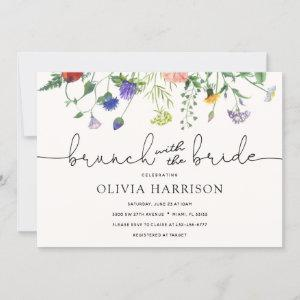 Brunch with the Bride Wildflower Shower Invitation starting at 2.40