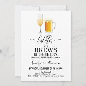 Bubbles and brews couples shower starting at 2.56