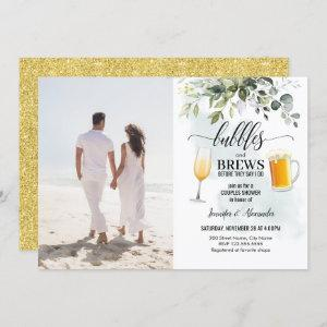 Bubbles & Brews Couples Shower Invitation starting at 2.50