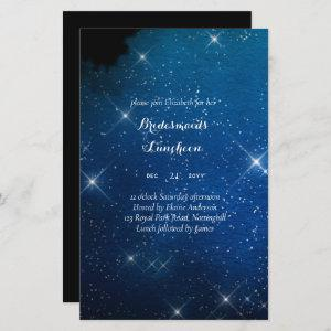 BUDGET Bridesmaids Luncheon Starry Night Blue starting at 0.71