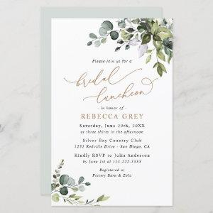 Budget Greenery Gold Bridal Luncheon starting at 0.71