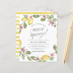 Budget Main Squeeze Lemon Wreath Bridal Shower starting at 0.60