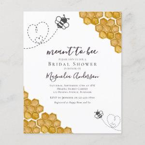 Budget Meant to Bee Bridal Shower starting at 0.61
