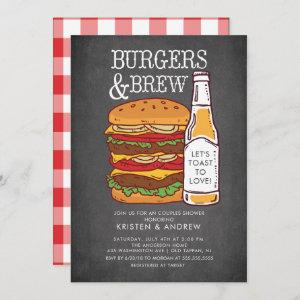 Burgers & Brew Couples Shower starting at 2.51