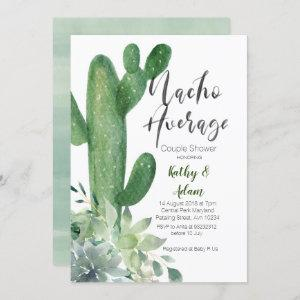 Cactus Taco about Love COUPLES SHOWER modern Invitation starting at 2.55