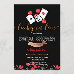 Casino lucky in love party invitation starting at 2.50