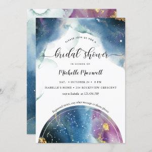 Celestial Constellations and Stars Bridal Shower Invitation starting at 2.40